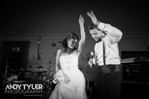 Dani & Alex dancing the night away
