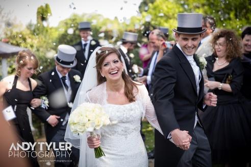 Dani & Alex, just married!